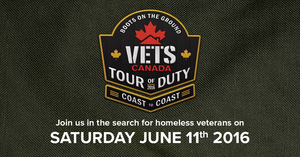 Join us in the search for homeless vererans on Saturday June 11th 2016